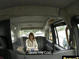 Brit Cab Honey Bouncing Ontop Cabbies Manstick