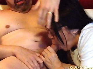 Matures Asian Wifey With A Nice Suck Off Abilities Sucking