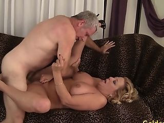 Granny Karen Summers Fucks A Thick Dick
