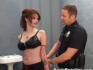 Horny Superstar Joslyn James In Best Jizz Flows, Red-haired Adult Clip