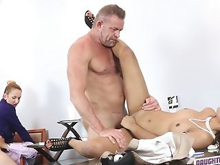 Gigi Flamez And Her Assistant Are Fucked Hard In He Office