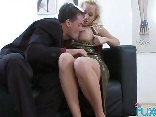 Blonde Mummy Deepthroats Dick And Has Good Anal Intercourse