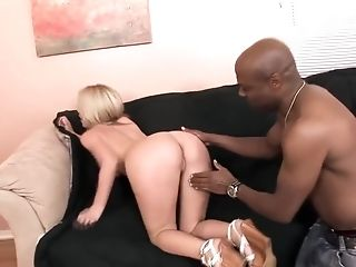 Bimbo Whore Gets Fucked Foolish By A Big Black Cock