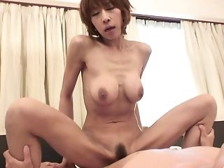 Buxom Japanese Matures Gives Head And Gets Fucked In The Bathroom