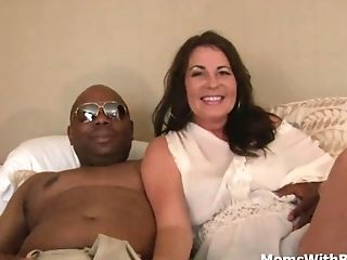 Interracial Internal Ejaculation Cooter Fuck Mummy Bella Roxx
