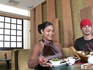 Asa Akira, Tasha Lynn In Naked Sushi