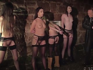 Four Victims Penalized And Abjected By Master He Fucks And Smack