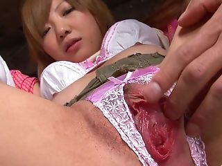 Sucking More Delicious Dicks At Once Makes A Japanese Dame Glad