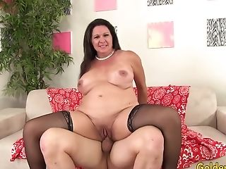 Matures Woman Leylani Wood Takes Penis