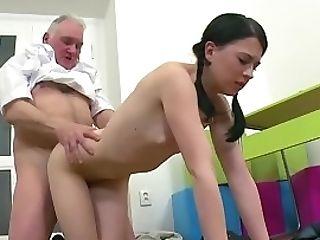 Horny Lecturer Seducing Teenage