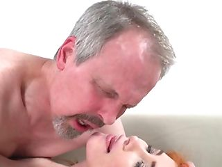 Horny Old Dude Has Memorable Hump With Wifey's Uber-cute Stepdaughter