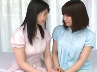 Lesbo Student Experimenting Four