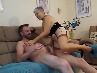 Grey Haired Granny Savanna Blows And Rails A Big Fat Dick