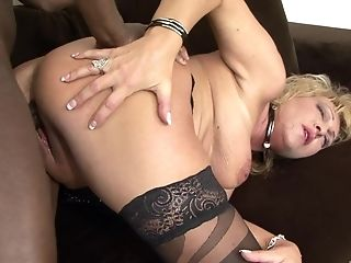Big Black Man-meat Makes Stunning Sisy More Satisfied Than Ever Before