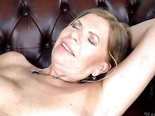 Matures Granny Samantha Spreads Her Gams To Be Fucked Nut Sack Deep