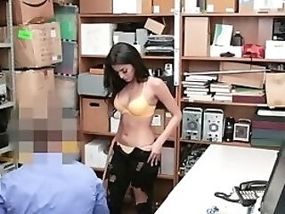 Touched And Fucked In The Guard's Office In The Shopping Mall
