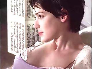 Winona Ryder Nip Slip In Nightie