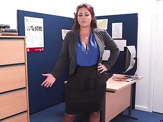 Severe Female Inspector Roxy R Gets Naked And Shows Off Big Tits And Yummy Cunt