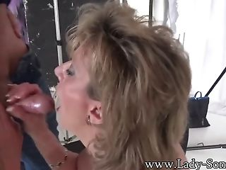 Photographer Face Bangs Matures Lady Sonia