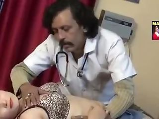 Indian Patient Stethoscope Check-up Heartbeat