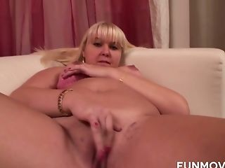 Moon Faced Ordinary Blonde Cougar Chilliblond Strips And Taunts Her Humid Cunt